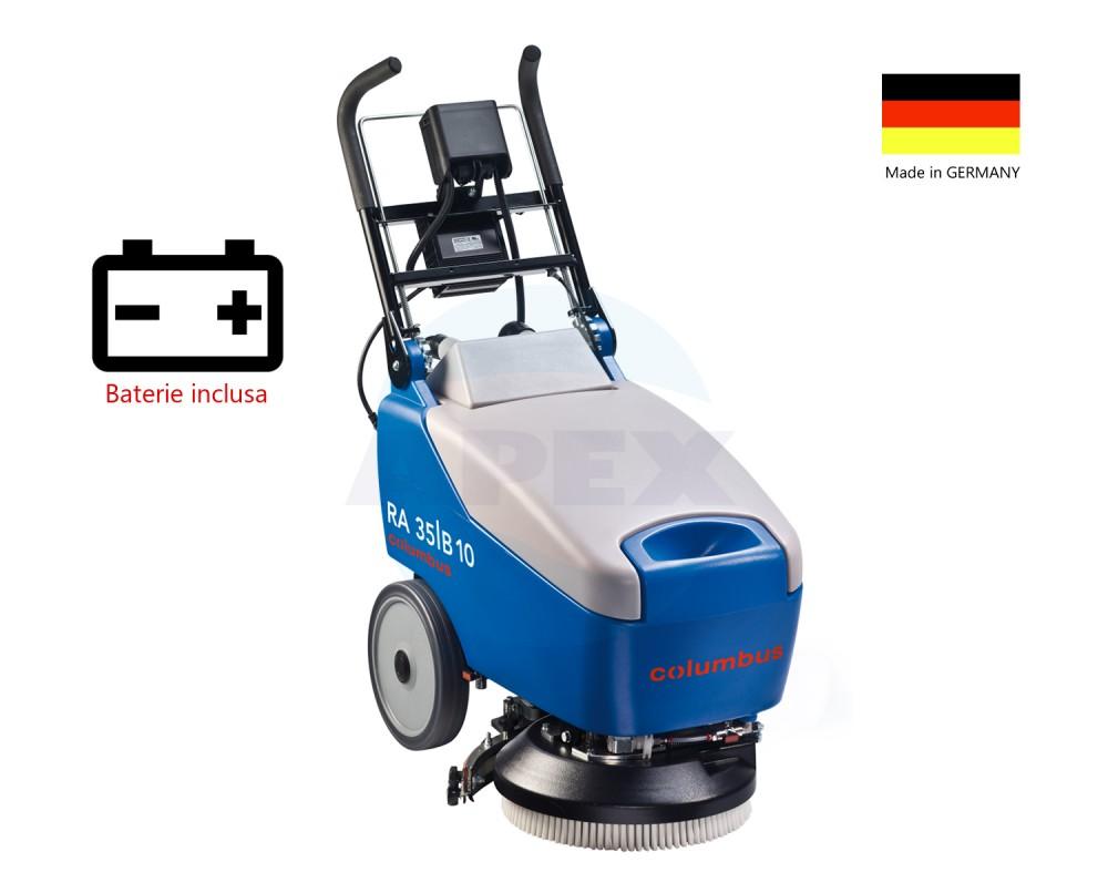 Dispozitiv de curatare pardoseala COLUMBUS RA35-B10 cu baterie