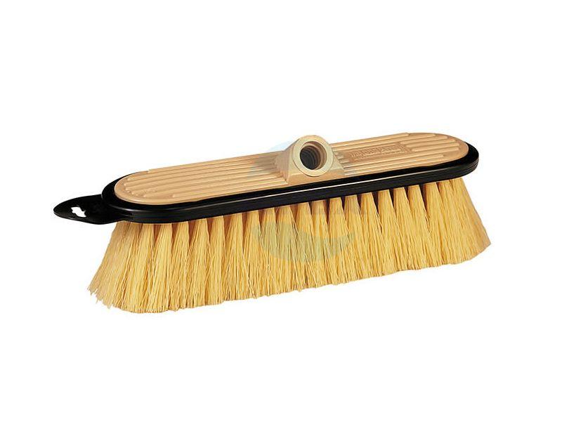 Perie Stiff Flow-Thru Brush pentru curățarea mai multor suprafețe dure: beton, podea, prelate