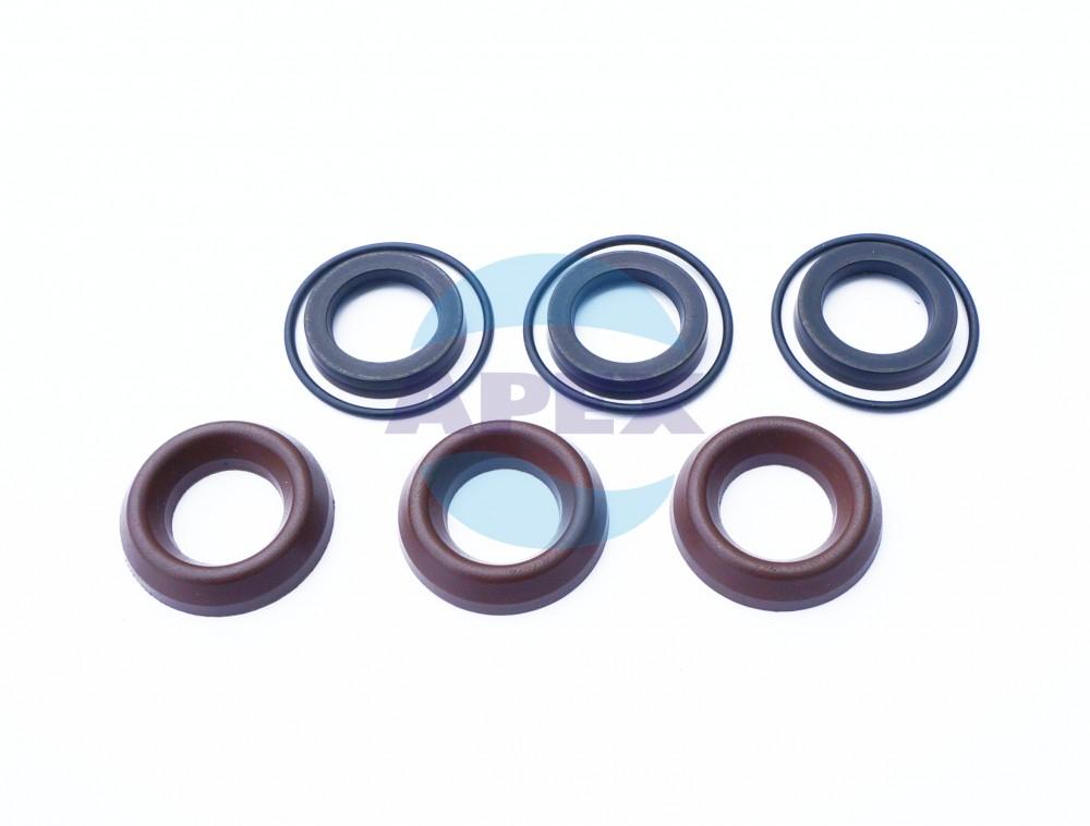 KIT COM1 garnituri piston D18; 6x3 buc