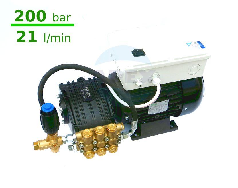Grup Spalare UDOR 200 bar, BC 21/20 cu automatizare si regulator presiune