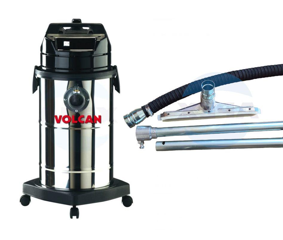 Aspirator Profesional Soteco VOLCAN pentru curatarea cuptoarelor, reziduuri fierbinti, cenusei cu furtun si perie