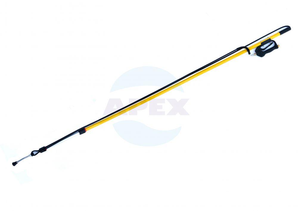 Brat telescopic ST-601 cu furtun si pistol, ajustabil in lungime de la 2.3 m la 5.6 m