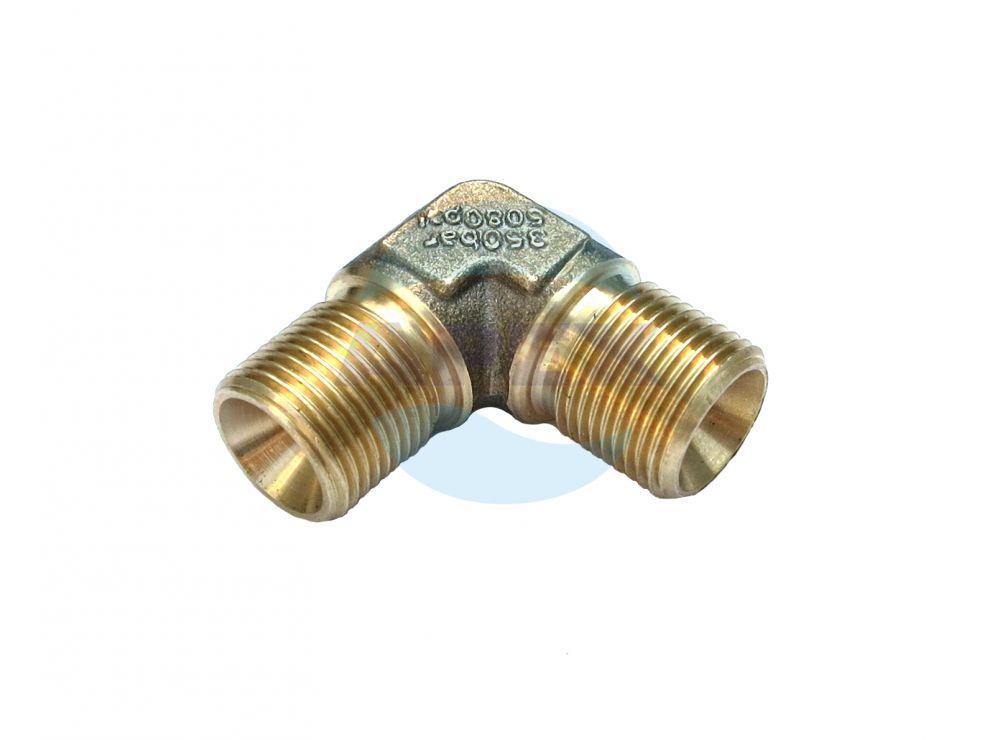 Cot alama inalta presiune, 350 bar, 3/8M – 3/8M