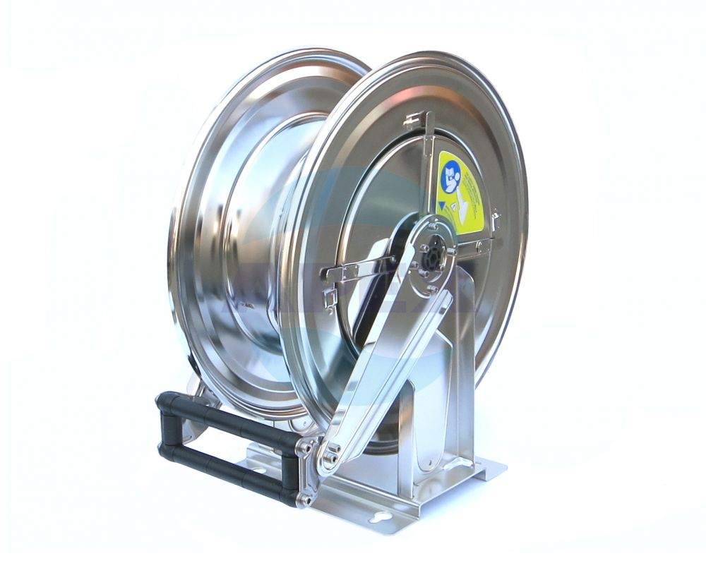Tambur furtun spalare automat Inox R+M 544, 1/2F - 1/2F