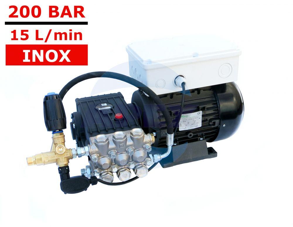 Pompa de spalat cu presiune INTERPUMP WS201 cu TOTAL Stop