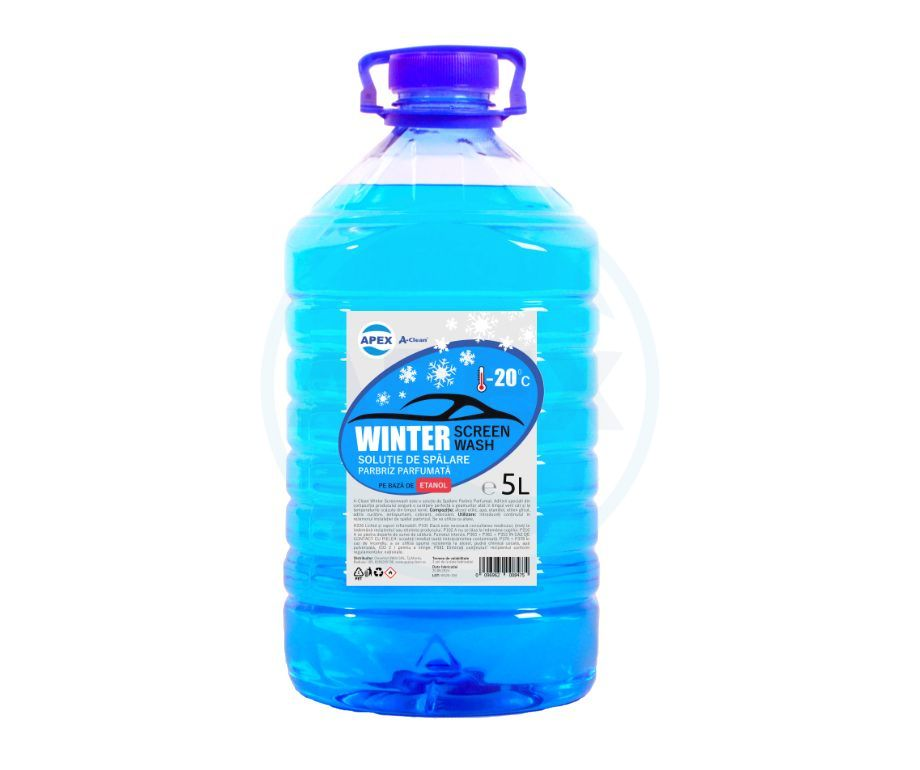 Lichid spalare parbriz A-Clean Winter Screenwash -20C 5L