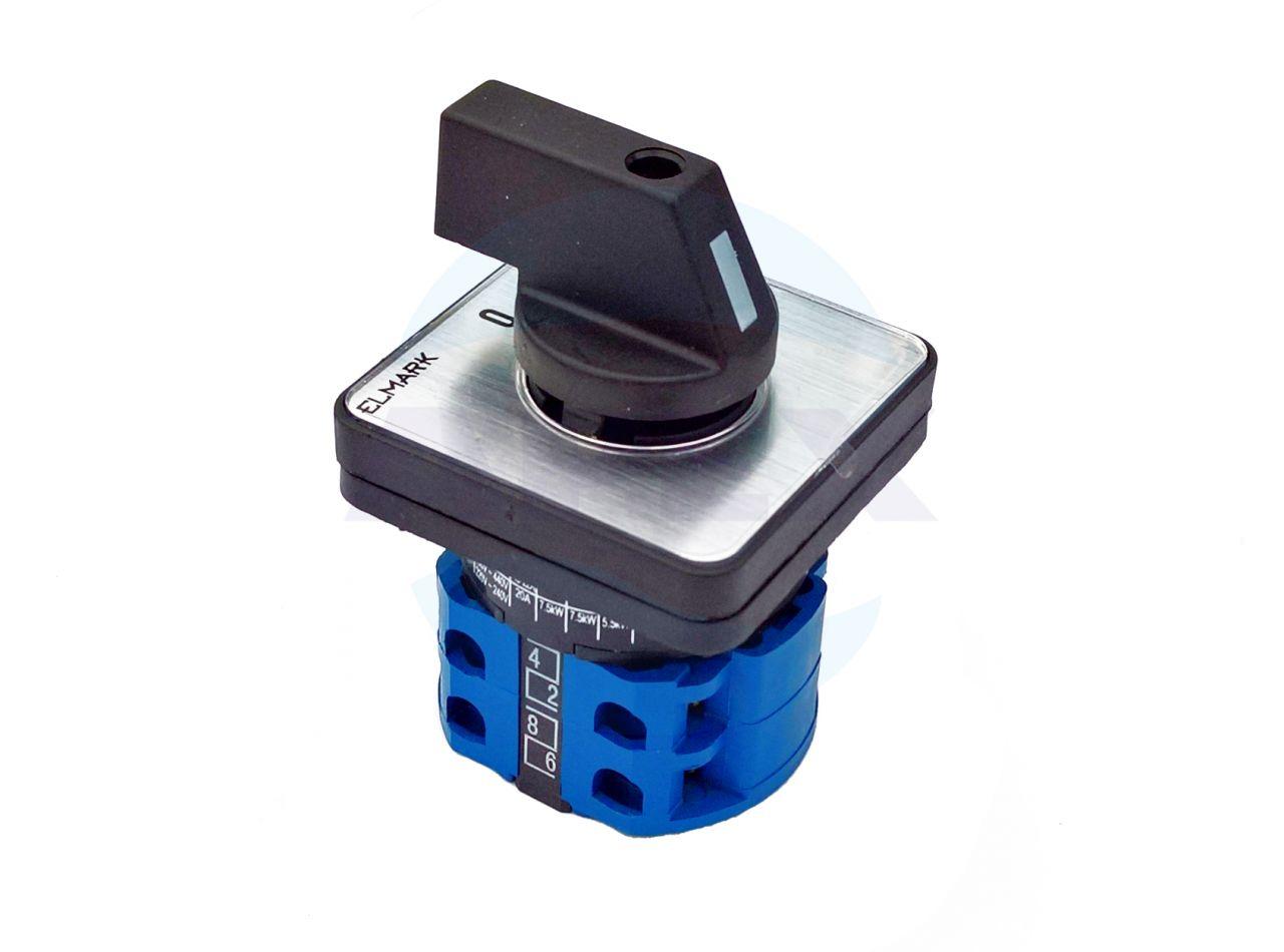 Comutator (intrerupator) cu came 20A (220-690 V)