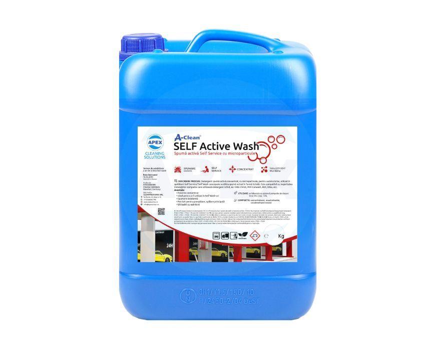 SELF Active Wash - Spuma activa Self Service cu microparticule