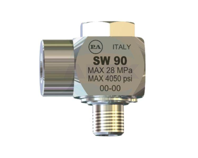 Pivotant brat rotativ spalare SW90