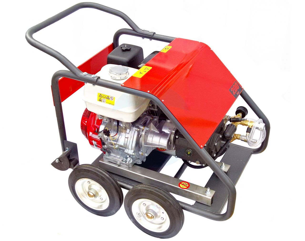 Aparat de spalat pe benzina cu presiune INTERPUMP WS201
