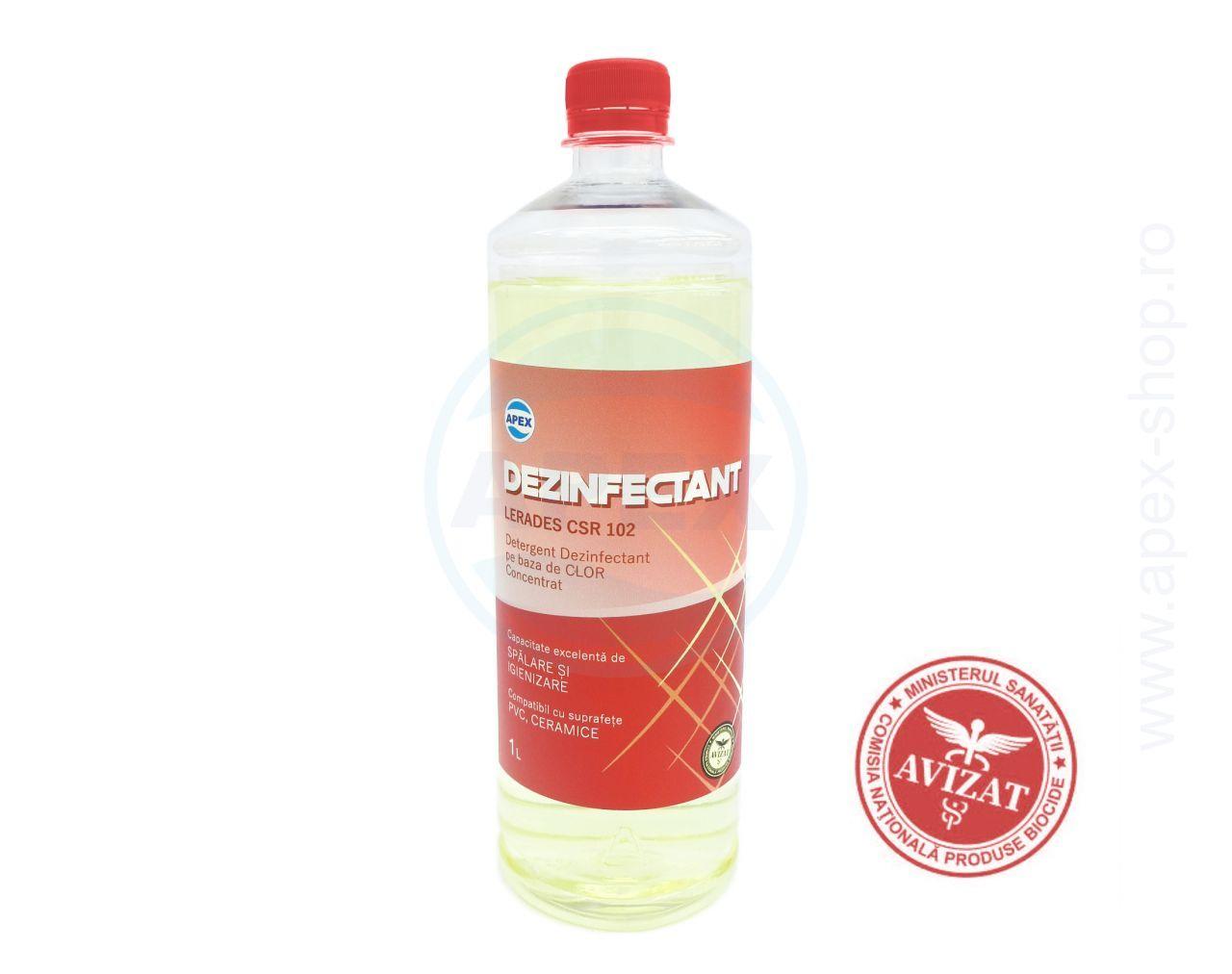 Dezinfectant concentrat pe baza de clor Lerades CSR102