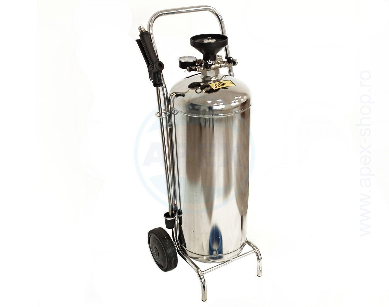 Sistem de dozare si spumare - Nebulizator INOX 50L