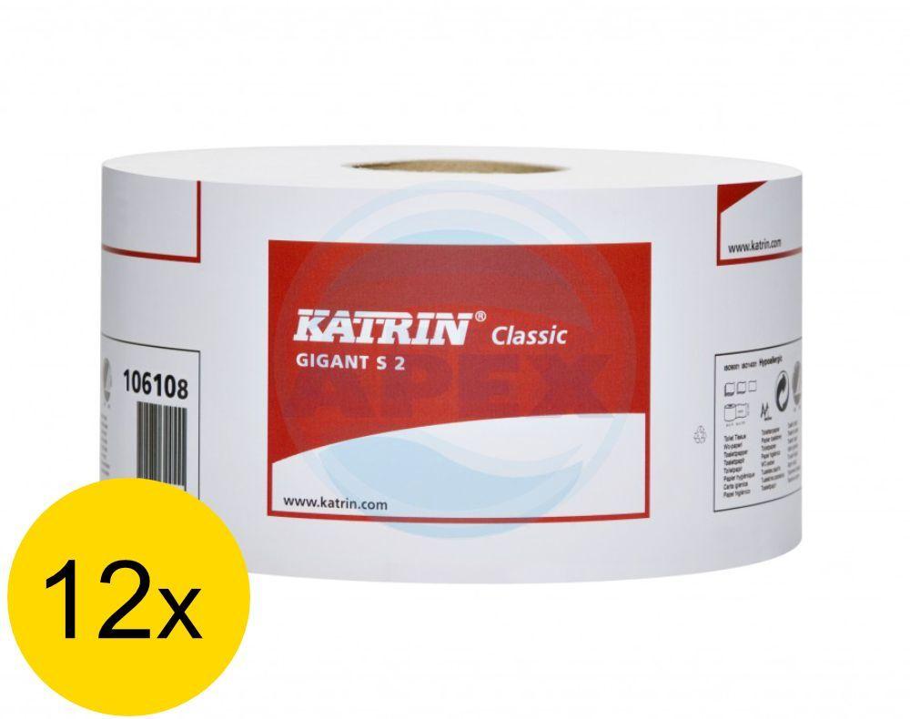 Hartie igienica Katrin Classic Gigant S2 - 12 buc