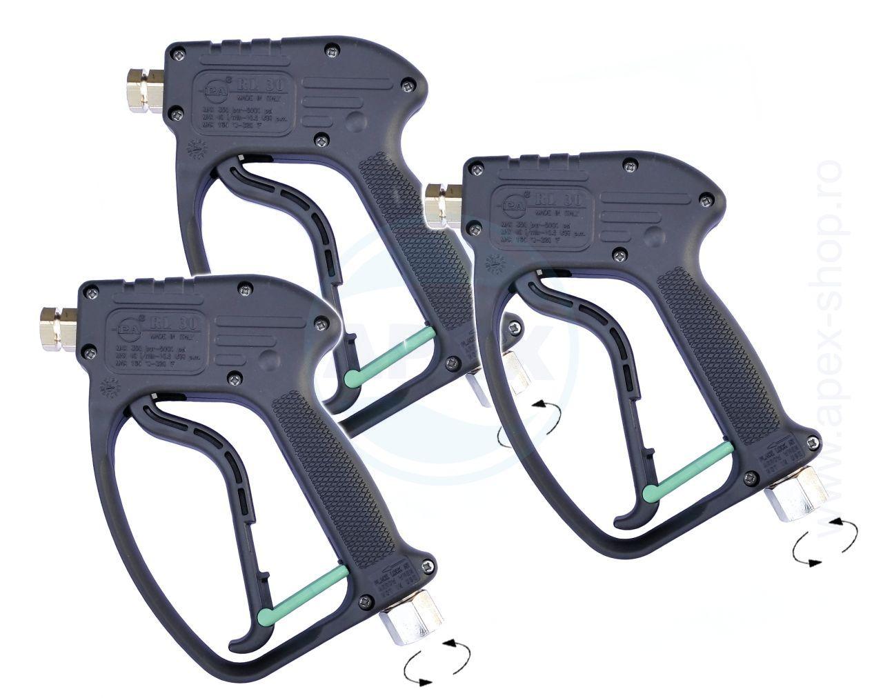 Pistol Jet RL30 Weep Gun, cupla rotativa, 3buc