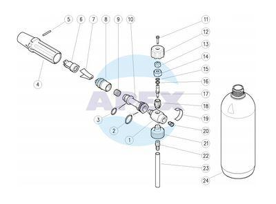 Lance Spumare LS3 original PA - Dispozitiv dozare spuma