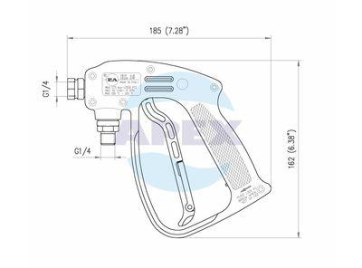 Pistol pentru aparat de spalat cu presiune - Spalare RL16