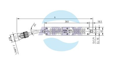 Lance Spalare S3 Inox 700 mm