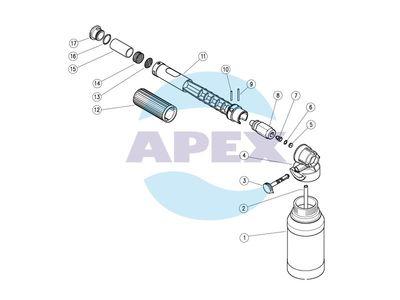 Lance Spumare LS12 original PA - Dispozitiv dozare spuma