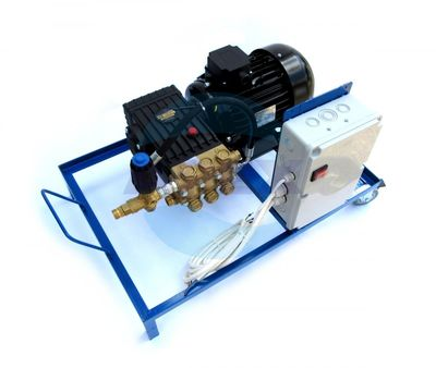 Grup Pompare Interpump WS 151 - Pompa presiune pe sasiu mobil