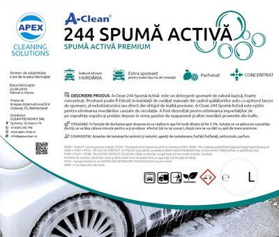 Spuma activa spalatorie auto A-Clean 244 Premium Active Foam Cleaner