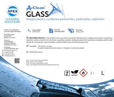 Solutie pentru curatarea gemurilor A-Clean Glass