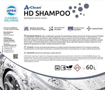 Sampon auto activ A-CLEAN HD SHAMPOO