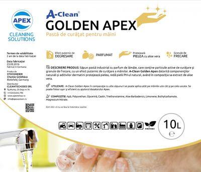 Gel de curatat maini A-Clean Golden Apex