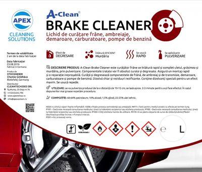 Lichid de curatare frane A-Clean Brake Cleaner 60L (curatitor frane)
