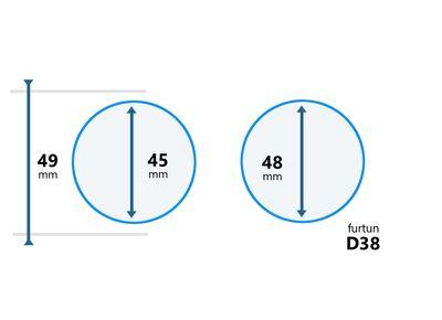 Cupla furtun aspirator D38