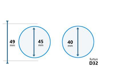 Cupla furtun aspirator D32
