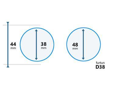 Cupla furtun Lance D38 (adaptor)