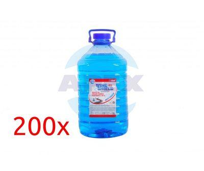 A-Clean Windshield Washer -35C 200x5L -  Solutie parfumata de spalare parbrize, gata preparata