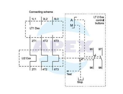 Releu termic LT2 Elmark 12-18A