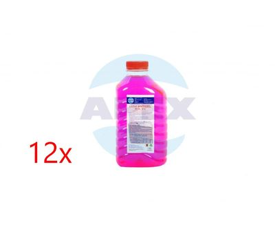 A-CLEAN LICHID ANTIGEL W-OIL G12 1KGx12buc - Lichid antigel de înaltă calitate bazat pe etilen glicol