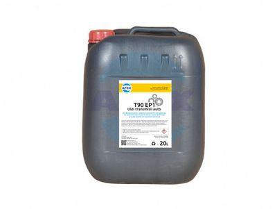 Ulei transmisii auto T90 EP1 - Se utilizează pentru ungerea transmisiilor prin agrenaje  ale autovehiculelor (cutii de viteze, casete de direcție, etc.)