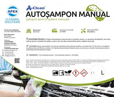 A-Clean Sampon pentru spalare manuala