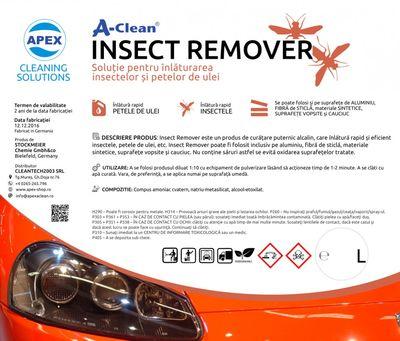 Solutie pentru inlaturarea insectelor A-Clean Insect Remover 5L