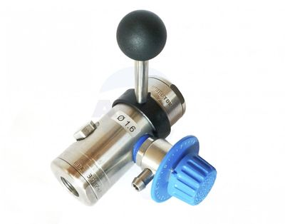 Dispozitiv spumare ST-167 inox - Injectoarele ST-167 sunt complet din otel inoxidabil.