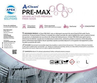Spuma activa A-Clean Lotuscare  Premax
