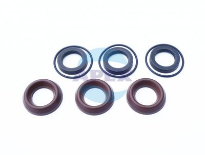 KIT COM1 garnituri piston D18; 6x3 buc