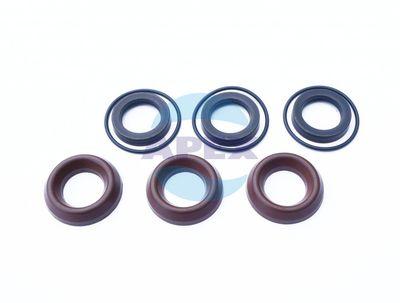 KIT COM1 garnituri piston D18; 6x3 buc - Compatibilitate: pompe seria: *FW mai putin seria 5023 - 5530; FWS; FWD