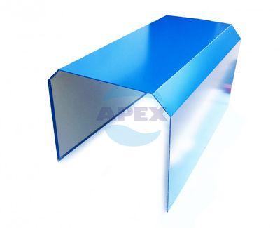 Mascare suport echipament spalare, grup pompare, pompe presiune - Carcasa protectie, confectionat din tabla, albastru