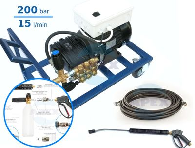 Grup spalatorii si dezinfectie, spalare - spumare completa UDOR BC15/20 cu Total Stop