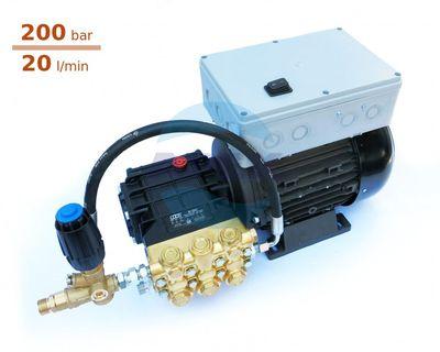 Aparat spalare cu presiune Udor MC 20/20  cu automatizare si regulator presiune