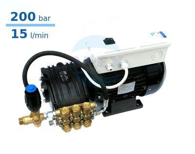 Grup Spalare UDOR 200 bar, BC 15/20 cu automatizare si regulator presiune