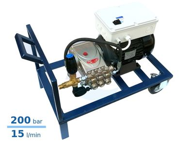 Grup spalare cu presiune industriala Car Wash Interpump C3 Evolution cu Total Stop