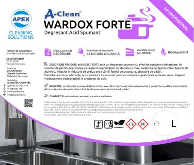Wardox Forte - Degresant Acid Spumant 25L