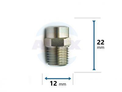 Duza INOX presiune lance spalare 40-0,45 mm