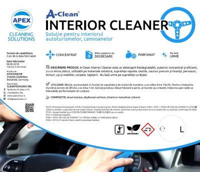 Solutie degresare A-Clean Interior Cleaner 5L