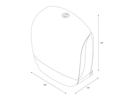 Distribuitor hartie igienica Katrin Inclusive Gigant S cu rulou inclus (12buc)